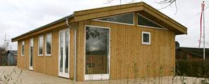 Færdigbyg kolonihavehus og fritidshuse