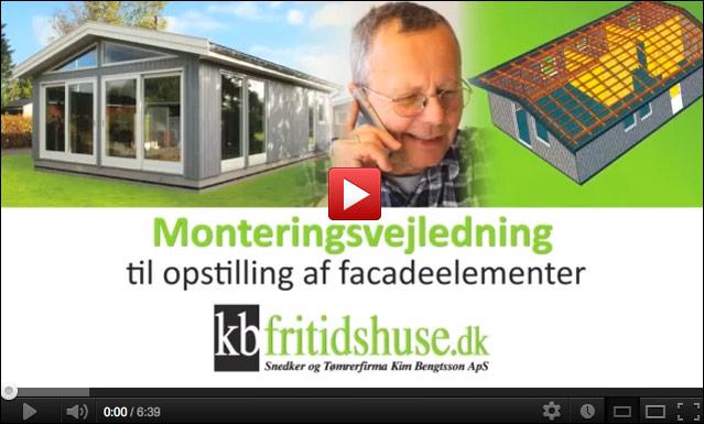 KB Fritidshuse - Montagevejledning - Kim Bengtsson